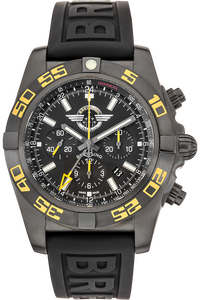 Chronomat GMT Breitling Jet Team  PVD Stainless Steel Automatic