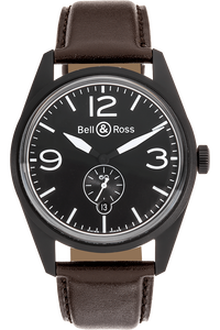 BR 123 Original Carbon PVD Stainless Steel Automatic