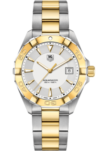 Aquaracer 300M Quartz Watch Steel & Gold