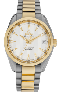 Seamaster Aqua Terra Co-Axial Yellow Gold and Stainless Steel Automatic