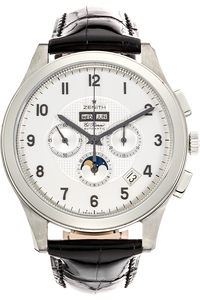 Grande Class El Primero Moonphase Stainless Steel Automatic