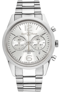 BR 126 Officer Silver Stainless Steel Automatic