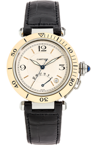 Pasha Diver Power Reserve Yellow Gold and Stainless Steel Automatic