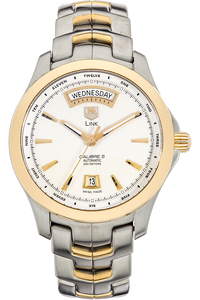 Link Day-Date Yellow Gold and Stainless Steel Automatic