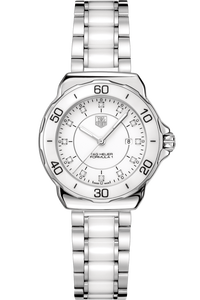 FORMULA 1 Lady Steel & Ceramic Diamond Dial White