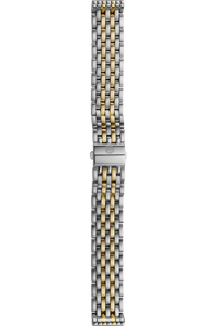 16MM 18K Yellow Gold/Stainless Steel Bracelet