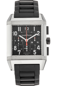 Reverso Squadra GMT Chronograph Stainless Steel Automatic