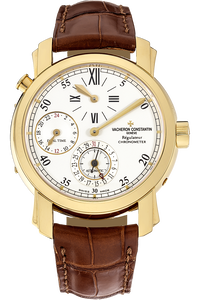 Malte Dual Time Regulator Yellow Gold Automatic