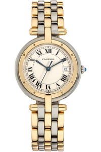 Panthere VLC Figaro Yellow Gold and Stainless Steel Quartz