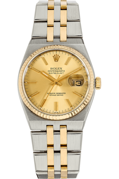 Datejust Circa 1985 Yellow Gold and Stainless Steel Quartz