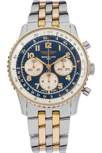 Navitimer Chronograph Yellow Gold and Stainless Steel