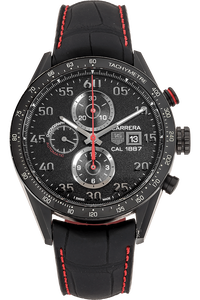 Carrera Calibre 1887 Chronograph Black Titanium Automatic