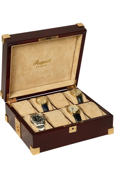 Captain's Collector Box 8 Watches
