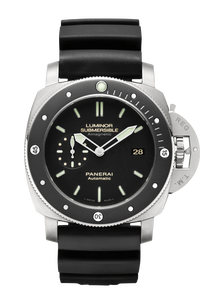 Luminor Submersible 1950 Amagnetic 3 Days Automatic Titanio