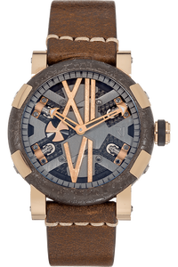 Titanic DNA Steampunk Rose Gold and PVD Stainless Steel Automatic
