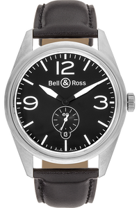 BR 123 Original Black Stainless Steel Automatic
