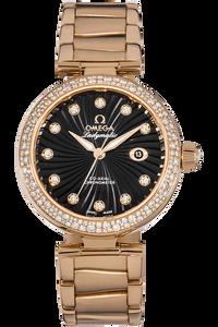 De Ville Ladymatic Co-Axial Rose Gold Automatic