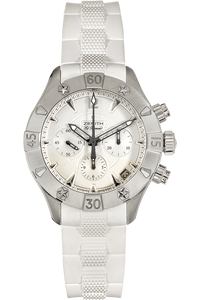 Defy Classic El Primero Chronograph Stainless Steel Automatic