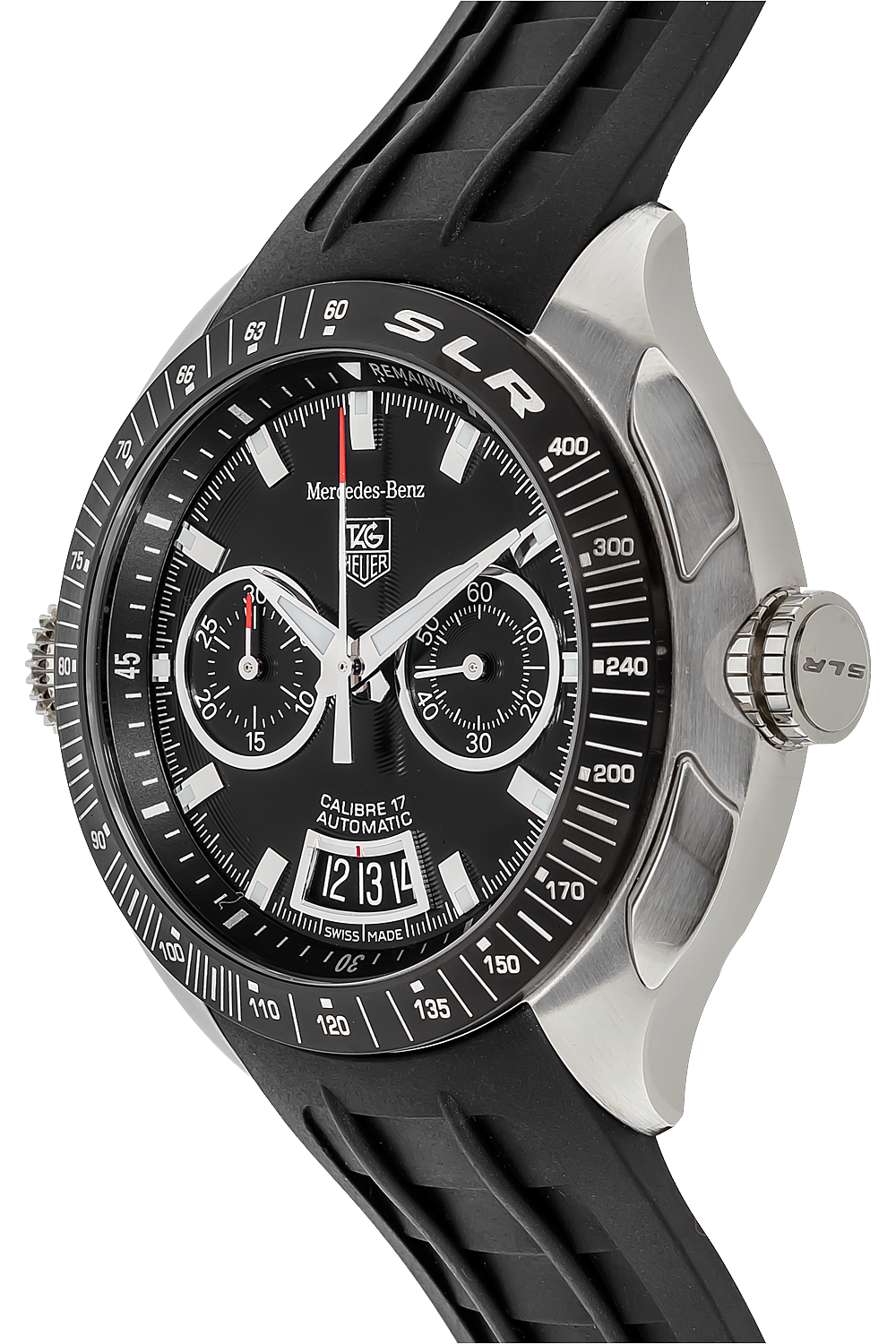Pre owned tag heuer mercedes benz slr chronograph for Tag heuer mercedes benz slr