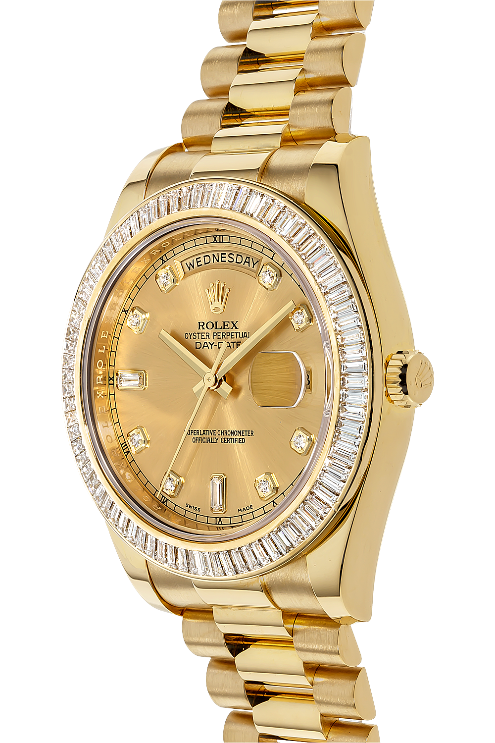 day date ii yellow gold automatic