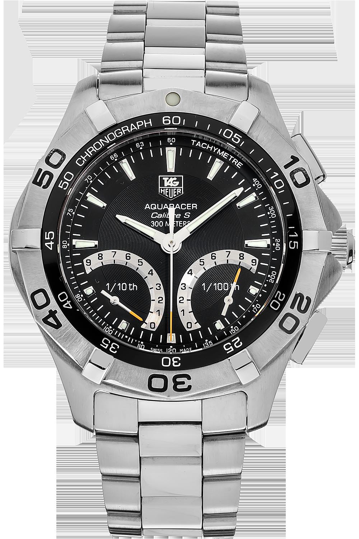 Pre-Owned TAG Heuer Aquaracer Calibre S Chronograph Quartz ...