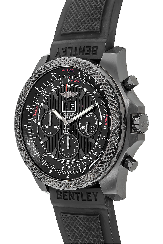 Breitling 6.75 Midnight Carbon