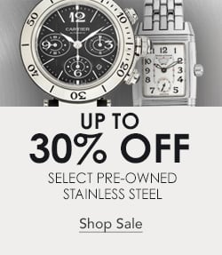 Certified Pre-Owned Stainless Steel