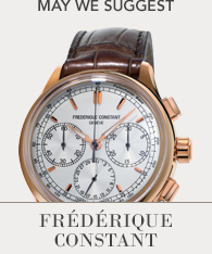 Featured Watch Frederique Constant