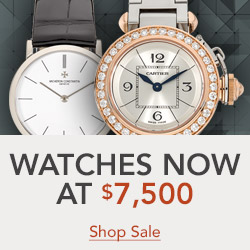 Select Certified Pre-Owned Watches reduced to $7,500