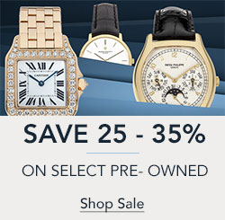 25 - 35% off Select Certified Pre-Owned