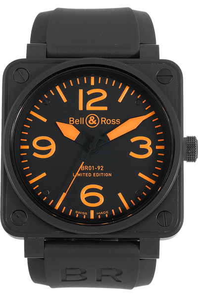 ed641bf8a7e Pre-Owned Bell   Ross BR 01-92 Limited Edition (BR01-92-SO)