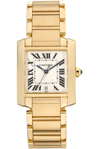 Tank Francaise Yellow Gold Automatic