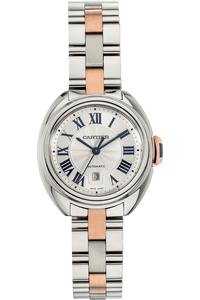 Cle de Cartier Rose Gold and Stainless Steel Automatic