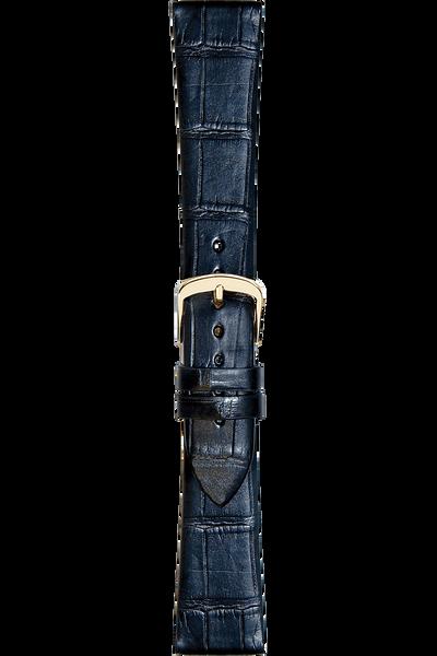 16 mm Black Alligator Strap