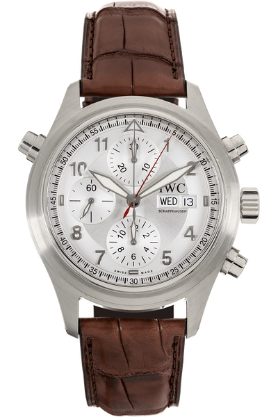Pilot's Spitfire Double Chronograph Stainless Steel Automatic