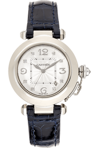 Pasha White Gold Automatic