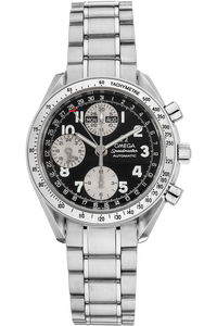 Speedmaster Triple Calendar Stainless Steel Automatic