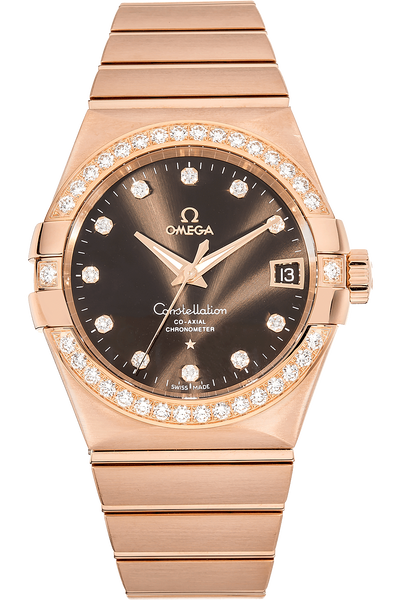 Constellation Co-Axial Rose Gold  Automatic