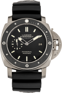 Luminor Submersible 1950 Amagnetic 3 Days Titanium Automatic