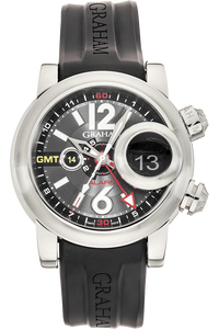 Swordfish Grillo Alarm GMT  Stainless Steel Automatic