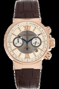 Maxi Marine Chronograph Rose Gold Automatic
