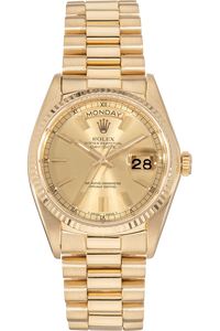 Day-Date Yellow Gold and Stainless Steel Automatic