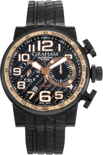 Silverstone Stowe Rose Gold and PVD Stainless Steel Automatic