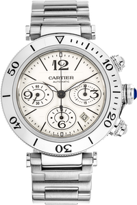 Pasha Seatimer Chronograph Stainless Steel Automatic
