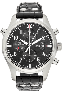 Pilot's Double Chronograph Stainless Steel Automatic