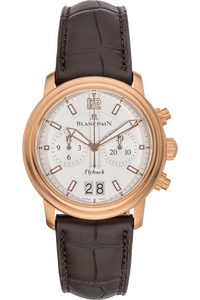 Leman Flyback Chronograph Grande Date Rose Gold Automatic