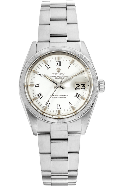 Date Circa 1970s Stainless Steel Automatic
