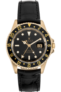 GMT Master II  Yellow Gold Automatic