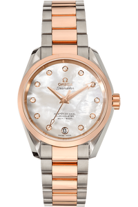 Aqua Terra Master Rose Gold and Stainless Steel Automatic