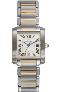 Tank Francaise Yellow Gold and Stainless Steel Automatic